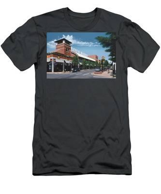 Little Rock River Market Men's T-Shirt (Athletic Fit)