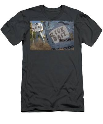 Live Bait And The Man Men's T-Shirt (Athletic Fit)
