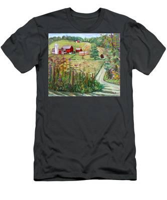 Meadow Farm Men's T-Shirt (Athletic Fit)