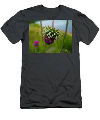 Milk Thistle Men's T-Shirt (Athletic Fit)