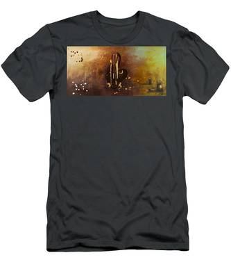 Music All Around Us Men's T-Shirt (Athletic Fit)
