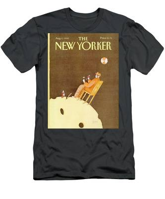 New Yorker August 6th, 1990 Men's T-Shirt (Athletic Fit)