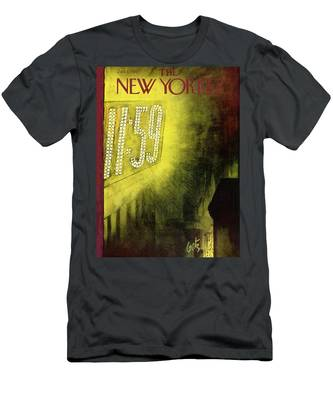 New Yorker January 1st, 1955 Men's T-Shirt (Athletic Fit)