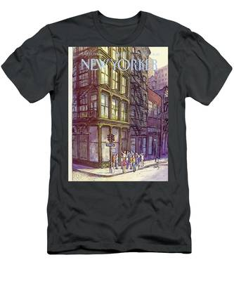 New Yorker October 13th, 1980 Men's T-Shirt (Athletic Fit)