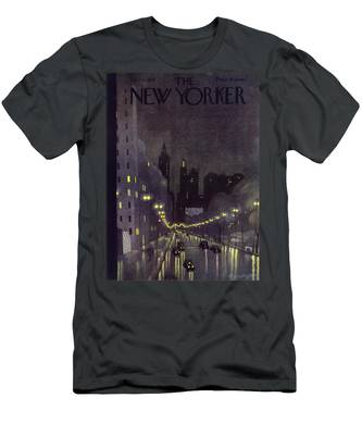 New Yorker October 29 1932 Men's T-Shirt (Athletic Fit)