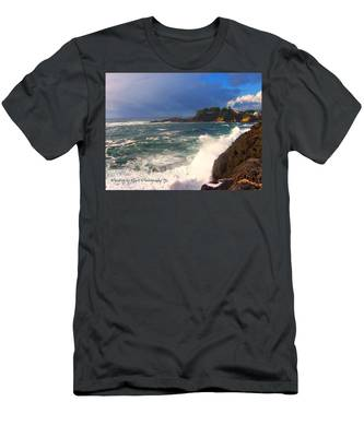 Oregon Coast 9 Men's T-Shirt (Athletic Fit)