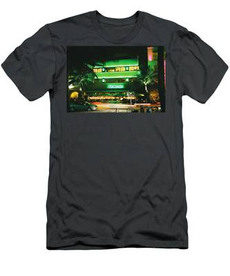 Pelican Hotel Film Image Men's T-Shirt (Athletic Fit)