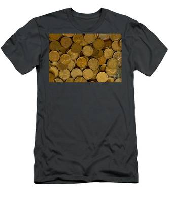 Pennies Men's T-Shirt (Athletic Fit)