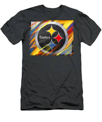 Pittsburgh Steelers Football Men's T-Shirt (Athletic Fit)