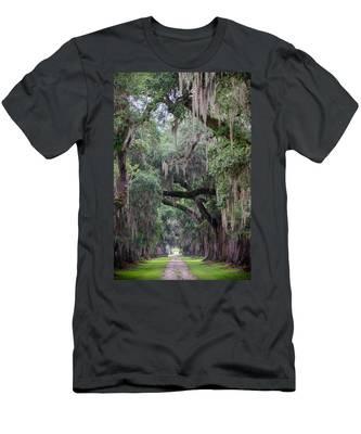 Plantation Path Men's T-Shirt (Athletic Fit)
