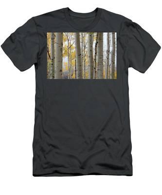 Rainy Day Aspen  Men's T-Shirt (Athletic Fit)