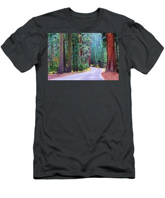 Sequoia Hwy Men's T-Shirt (Athletic Fit)