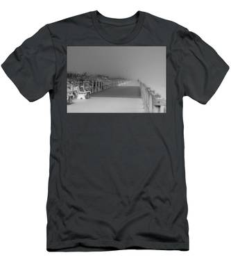 Spring Lake Boardwalk - Jersey Shore Men's T-Shirt (Athletic Fit)