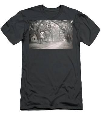 Sugar Cane Plantation Men's T-Shirt (Athletic Fit)
