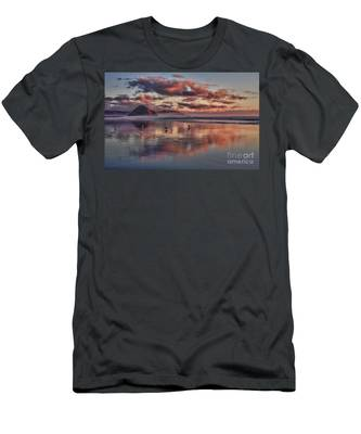Sunset At Morro Strand Men's T-Shirt (Athletic Fit)