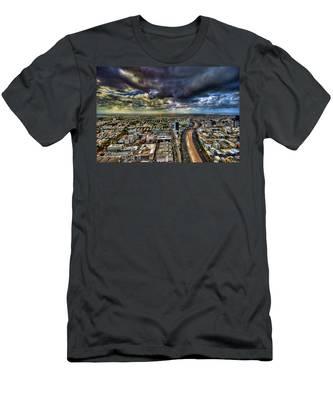 Tel Aviv Blade Runner Men's T-Shirt (Athletic Fit)