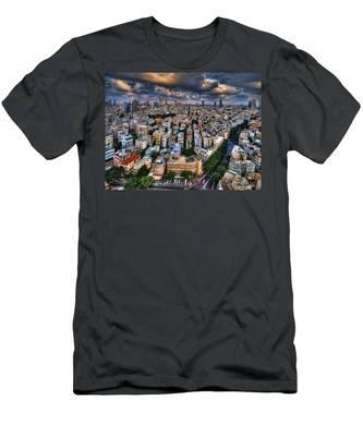 Tel Aviv Lookout Men's T-Shirt (Athletic Fit)