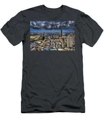 Tel Aviv Love Men's T-Shirt (Athletic Fit)