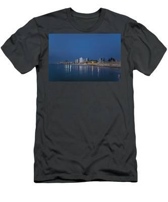 Tel Aviv The Blue Hour Men's T-Shirt (Athletic Fit)