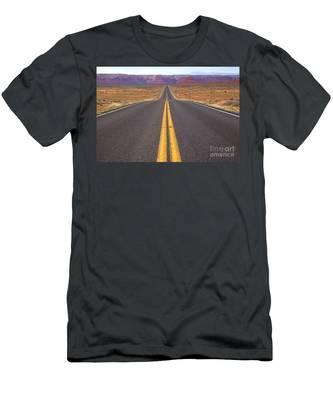 The Long Road Ahead Men's T-Shirt (Athletic Fit)