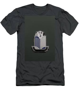 Tr3 Hood Ornament 2 Men's T-Shirt (Athletic Fit)