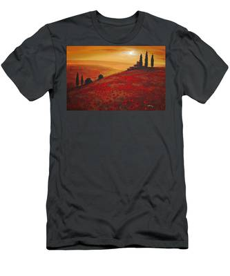 Tuscan Sunset Men's T-Shirt (Athletic Fit)