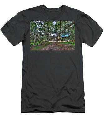 Under The Century Tree Men's T-Shirt (Athletic Fit)