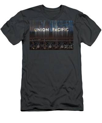 Union Pacific - Big Boy Tender Men's T-Shirt (Athletic Fit)