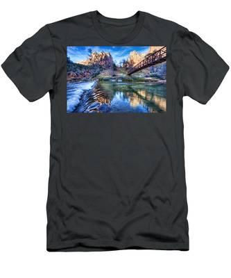 Water Under The Bridge Men's T-Shirt (Athletic Fit)