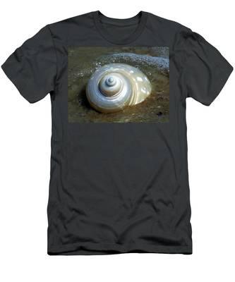 Whispering Tides Men's T-Shirt (Athletic Fit)