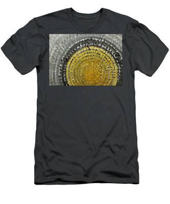 Winter Sun Original Painting Men's T-Shirt (Athletic Fit)