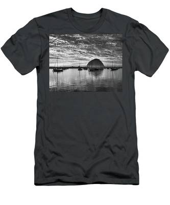 Morro Bay On Fire Men's T-Shirt (Athletic Fit)