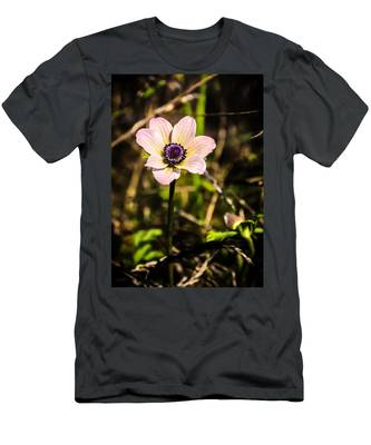 Men's T-Shirt (Athletic Fit) featuring the photograph Anemon by Michael Goyberg