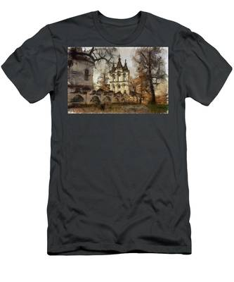 Men's T-Shirt (Athletic Fit) featuring the photograph Antiquities by Michael Goyberg