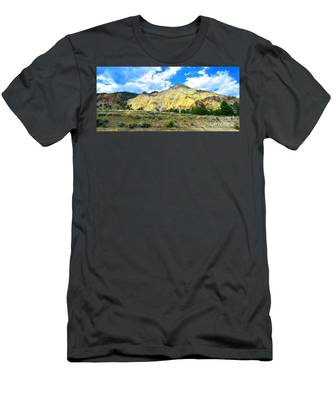 Big Rock Candy Mountain - Utah Men's T-Shirt (Athletic Fit)