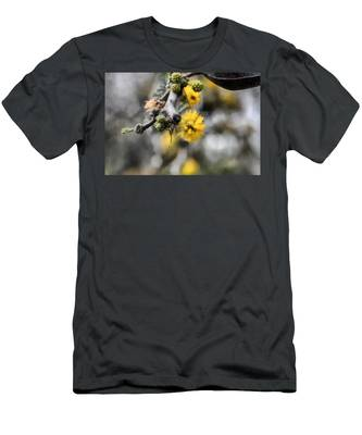 Men's T-Shirt (Athletic Fit) featuring the photograph Blossoming Tree by Michael Goyberg