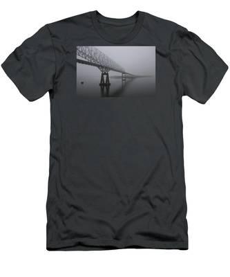 Bridge To Nowhere Men's T-Shirt (Athletic Fit)