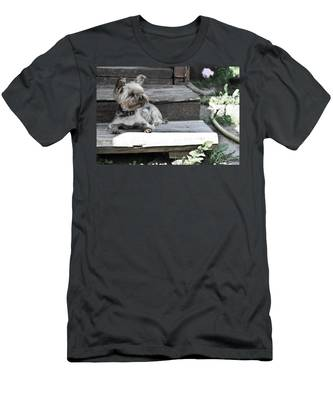 Men's T-Shirt (Athletic Fit) featuring the photograph Hostess by Michael Goyberg