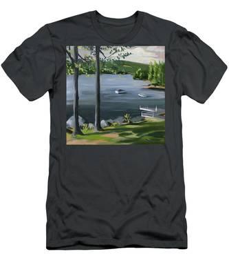 Little Squam In June Men's T-Shirt (Athletic Fit)