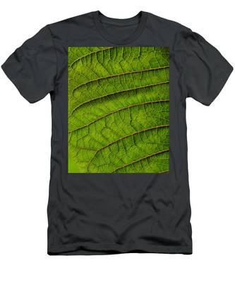 Poinsettia Leaf II Men's T-Shirt (Athletic Fit)