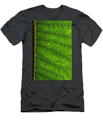 Poinsettia Leaf IIi Men's T-Shirt (Athletic Fit)