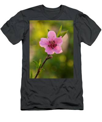 Pretty Pink Peach Men's T-Shirt (Athletic Fit)