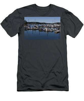 Roche Harbor Reflected Men's T-Shirt (Athletic Fit)