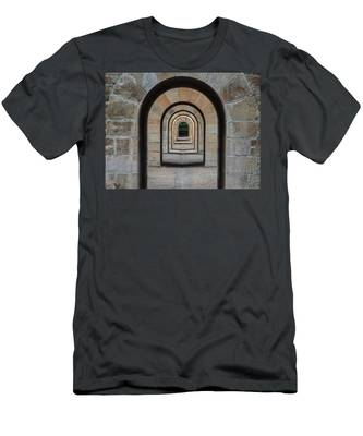 Receding Arches Men's T-Shirt (Athletic Fit)