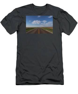 Kansas Road Men's T-Shirt (Athletic Fit)