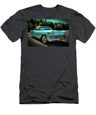 1958 Chevrolet Impala Men's T-Shirt (Athletic Fit)