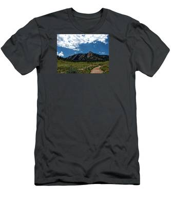 Colorado Landscape Men's T-Shirt (Athletic Fit)