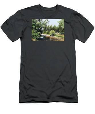 A Last Drink Men's T-Shirt (Athletic Fit)