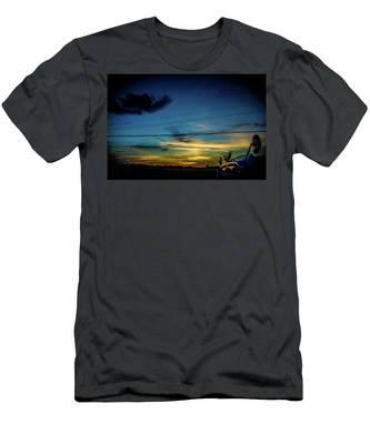 A Trucker's View Men's T-Shirt (Athletic Fit)
