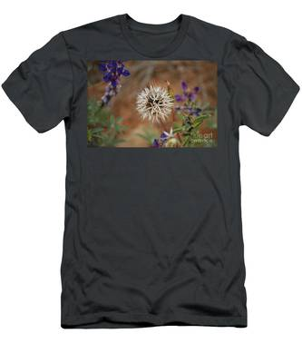 Another White Flower Men's T-Shirt (Athletic Fit)